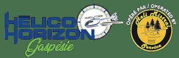 Hélico Horizon Gaspésie Logo